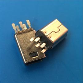 �A板式MINI 5P公�^B型 迷你USB短�w焊板式�F�ゅ��