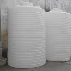塑胶水塔5吨储水罐塑料储水桶加厚化工水箱耐酸碱白色储罐