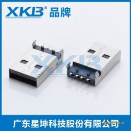 公�^USB A公插板、AM沉板式 A公90度/立式