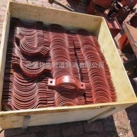 供应碳钢三孔短管夹_西北院D2型三孔短管夹_三孔短管夹规格