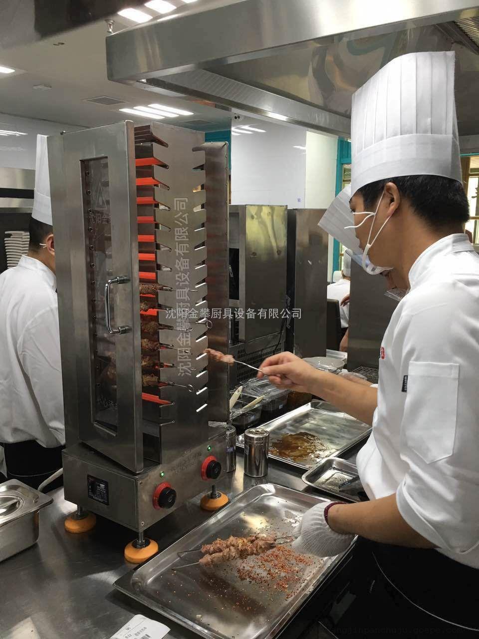 李先生全自动烧烤机