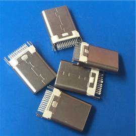 USB 3.1白�z公�^TYPE-C�A板�Ч潭��_24P 短�w