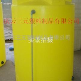1吨加药箱搅拌塑料桶食品塑料桶化工塑料桶