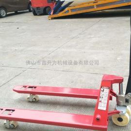 搬运设备厂家直销手动液压搬运车货物装卸车