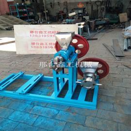 河北鑫工40、50、60小型食品膨化机 玉米 大豆膨化机
