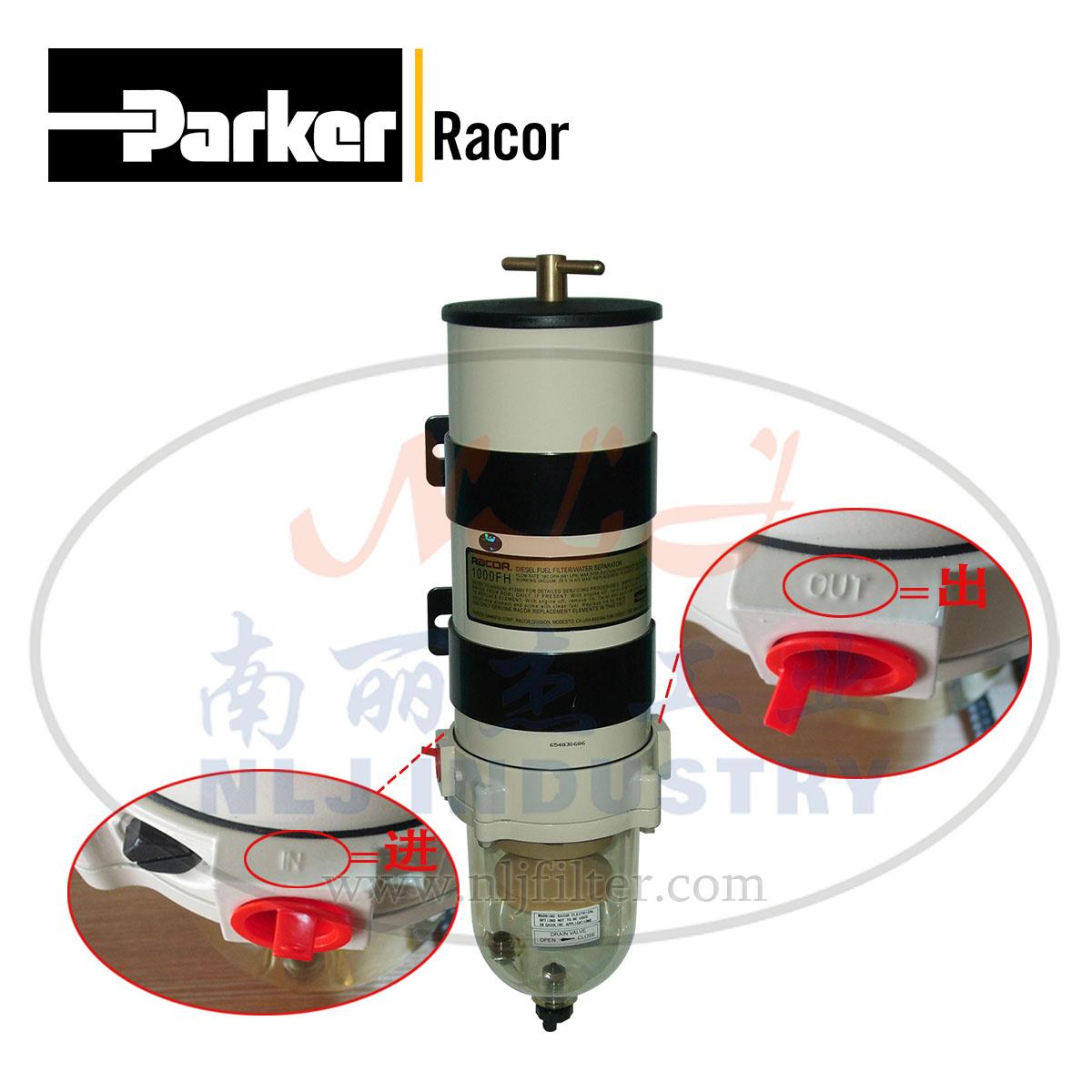 Parker(派克)Racor燃油过滤/水分离器1000FH30