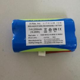 爱色丽X-RITE EXACT密度仪电池