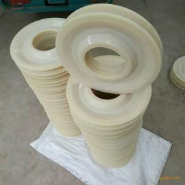 供应吊车滑轮塔吊导向轮塔机排绳轮尼龙制品