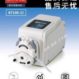 厂家供应-兰格实验室精密蠕动泵BT100-2J