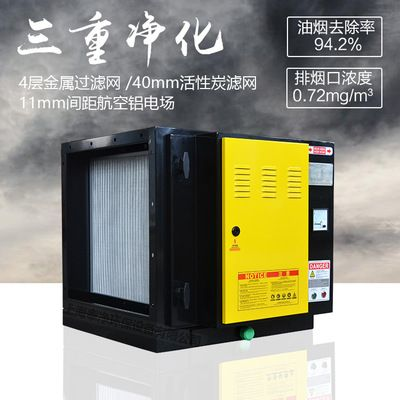 厂家直供包过环评 油烟净化装置 烧烤油烟净化器