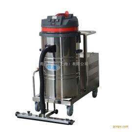 蓄电池用工业吸尘器YZ-1580P,小区广场吸树叶用吸尘机