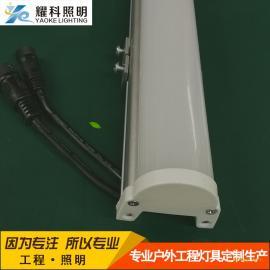 批发LED护栏管、黄光数码管、铝槽护栏管、建筑轮廓装饰灯具
