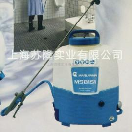 日本丸山MSB151喷雾器、背负式电动打药机 充电式喷雾器