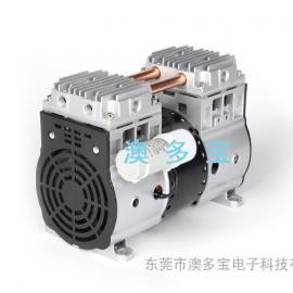 无油微型活塞式真空泵/茶叶包装机用