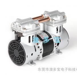 静音无油活塞式微型真空泵生产厂家―澳多宝