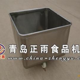 青岛正雨直供304不锈钢200L标准小桶车