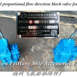 船用手动比例阀-手动比例流量阀复合阀CSBF-G25-H