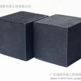 惠州活性炭厂家工业废气处理喷漆房净化空气蜂窝活性炭块
