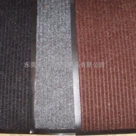 双条纹防尘防污地垫 办公室地毯 酒店走廊地垫 条纹防尘地毯