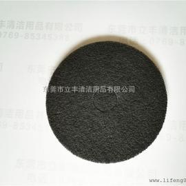 3M 7200 加厚型黑色起蜡垫 17英寸5片/盒 黑色清洁垫百洁垫