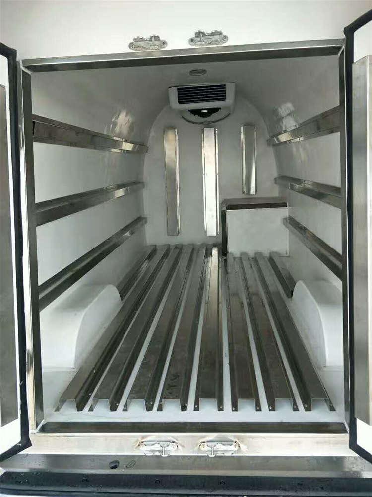 重庆能进市中心面包冷藏车