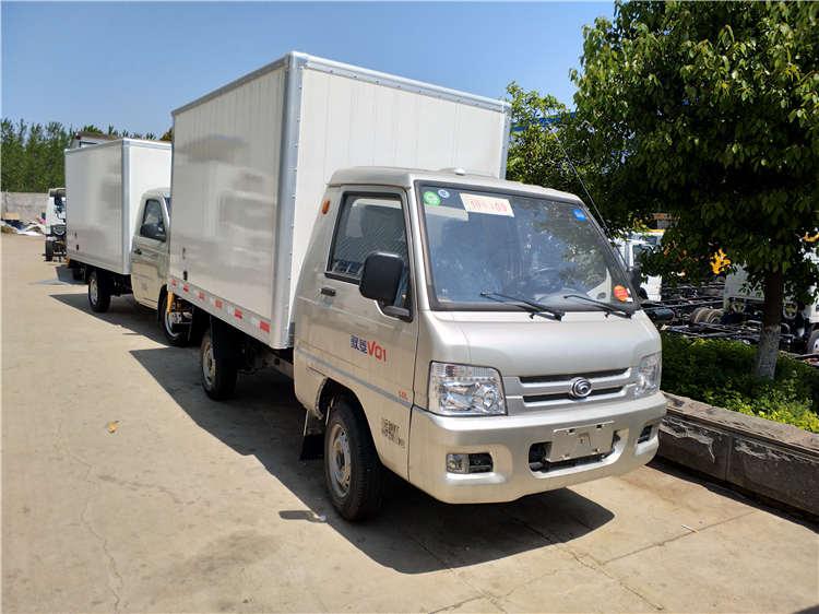小型福田驭菱冷藏车冷冻车价格