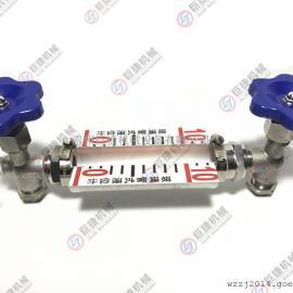 厂家直销带刻度液位计 侧装水箱液位计 小体外螺纹液位计