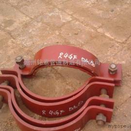 D3双孔短管夹 焊接固定支座 z9立管支撑板 厂家直销 价格优惠