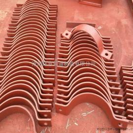 专业厂家 管夹专业生产 优质长管夹、短管夹、双孔管夹管夹子
