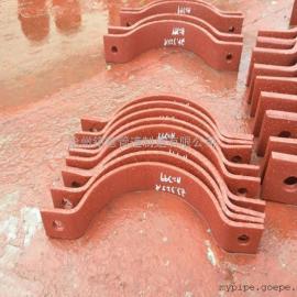 D3双孔短管夹 三孔管夹厂家 立管管夹 管道支吊生产厂家