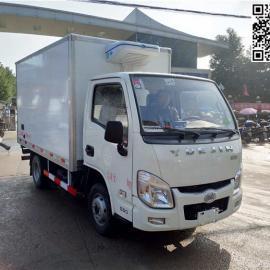 小型3米厢长柴油冷藏车厂家