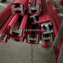 单极铝滑触线 800A双梁行车供电滑导线 安全电轨滑触线