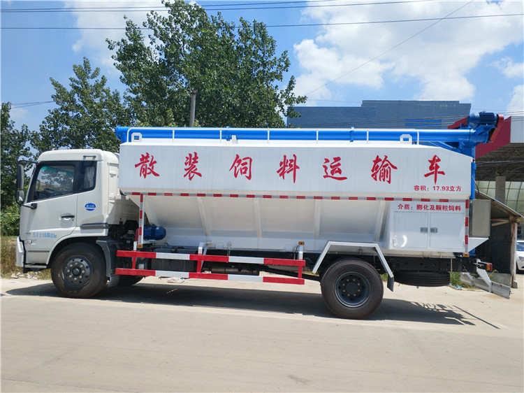 10吨天锦散装饲料车厂家价格