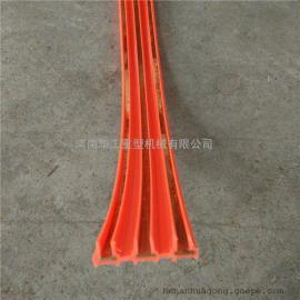 大车供电3极10平方无接缝滑触线 电轨软滑线 弯曲滑线/多极滑线