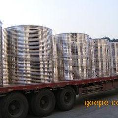 锈钢304水箱方形消防水箱生活圆形水箱304双层不锈钢保温水箱