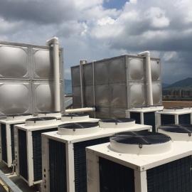 供应不锈钢卧式(铁架)保温水箱,保温水塔,不锈钢水箱