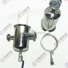 厂家直销卫生级过滤器 快装蒸汽过滤器 不锈钢蒸汽过滤器