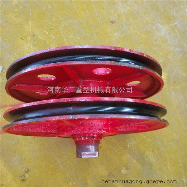 16t吊钩动滑轮 四绳抓斗上滑轮 钢厂钢水包起吊滑轮组