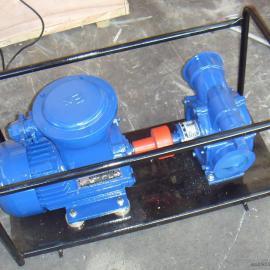 KYB80-35-25移动式防爆自吸滑板泵滑片泵