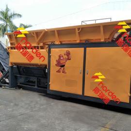 斯瑞德移动破碎机,移动垃圾破碎站MS850