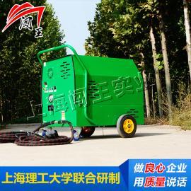 闯王秦皇岛柴油蒸汽洗车机价格 移动清洗软件 重油污清洗