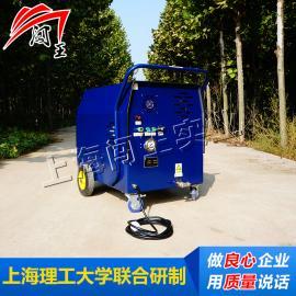 闯王CWC04B电瓶驱动柴油蒸汽清洗多少钱 供应超高压热水清洗机
