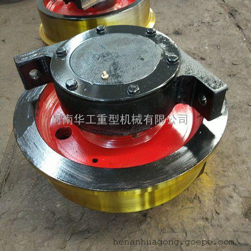 大方铸钢平车轮 400*120地梁轮 欧式圆钢锻制车轮 销往上海天津