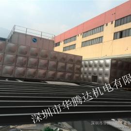 惠州不锈钢消防水箱,首选华腾达,尺寸齐全,可按需定做