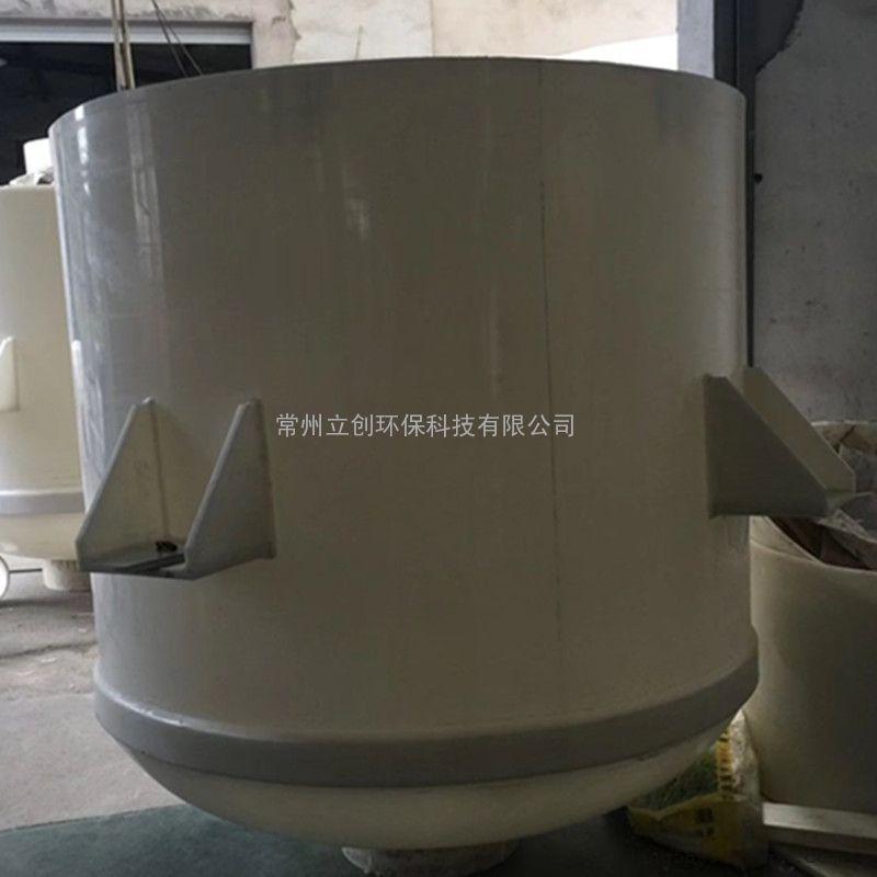 立创厂家供应塑料挂式搅拌釜PP挂壁反应罐聚丙烯搅拌桶储槽设备