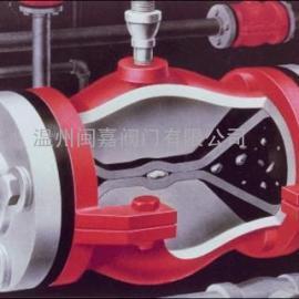 气动气缸式(薄膜)管夹阀 气缸式(薄膜)管夹阀 气动管夹阀