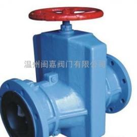 气动气缸式管夹阀 气缸式管夹阀 气动管夹阀
