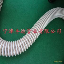 PU塑筋防静电管PU塑筋螺纹管加铜线输料管