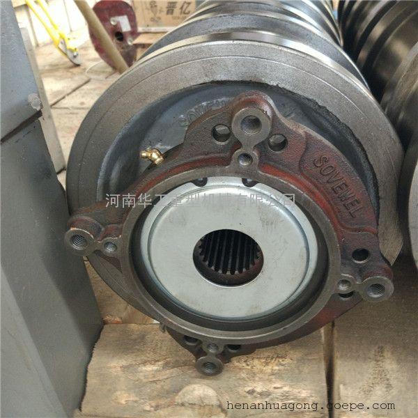各规格欧式端梁轮 φ200圆钢锻制车轮组 与科尼减速机配套车轮