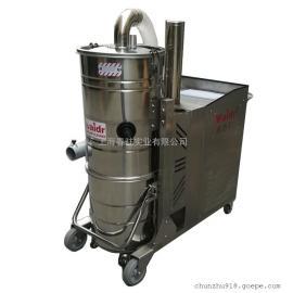 大型工业吸尘器生产厂家流水线配套用吸颗粒焊渣铁屑长时间工作